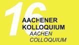 Logo 16. Aachener Kolloquium