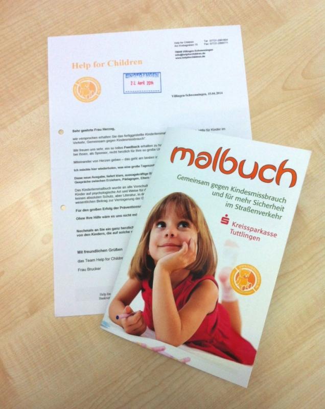 Bild Malbuch von Help for Children