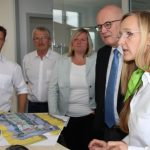 Bild HERZOG INTERTEC bekommt Besuch von Volker Kauder CDU/CSU-Fraktionsvorsitzender im Bundestag und der CDU-Kreisvorsitzenden Maria-Lena Weiß