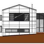Skizze der Außenansicht vom Firmensitz von HERZOG INTERTEC