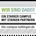 Flyer der Hochschule Tuttlingen ein starker Campus mit starken Partnern