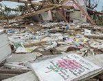 Bild von Aktion Deutschland Hilft Zerstörungen nach Wirbelsturm Haiyan 2013